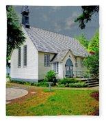 Christ Church Fleece Blanket