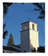 Christ The King Chapel Tower Fleece Blanket