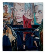 Christine Anderson Concert Fantasy Fleece Blanket