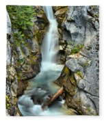 Christine Falls In The Canyon Fleece Blanket