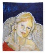 Christmas Angel   Finished Fleece Blanket