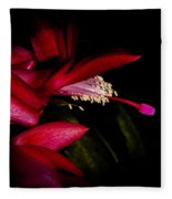 Christmas Beauty Fleece Blanket