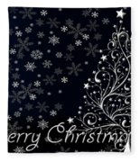 Christmas Card 10 Fleece Blanket
