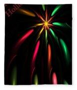 Christmas Card 110810 Fleece Blanket
