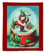 Christmas Cheer Fleece Blanket