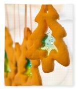 Christmas Cookies Fleece Blanket