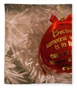 Christmas Decor Fleece Blanket