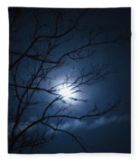 Christmas Eve Night Fleece Blanket
