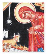 Christmas Icon 2 Fleece Blanket