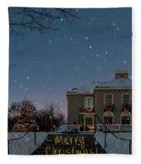 Christmas Lights Series #2 Fleece Blanket