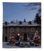 Christmas Lights Series #4 Fleece Blanket
