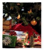 Christmas Memories Fleece Blanket