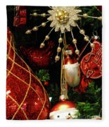 Christmas Ornaments 1 Fleece Blanket