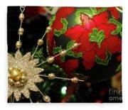 Christmas Ornaments 2 Fleece Blanket