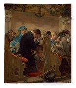 Christmas Prayers Fleece Blanket