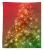 Christmas Radiance Fleece Blanket