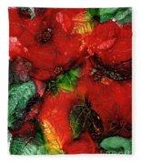 Christmas Remembered Fleece Blanket