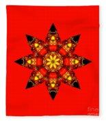 Christmas Star Fleece Blanket