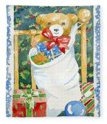 Christmas Stocking Fleece Blanket