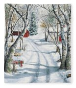Christmas Surprise Fleece Blanket