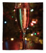 Christmas Toast Fleece Blanket