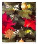 Christmas Tree 6 Fleece Blanket