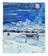 Christmas Wonderland Fleece Blanket