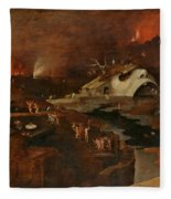 Christ's Descent Into Hell Fleece Blanket