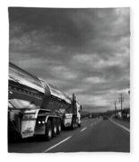 Chrome Tanker Fleece Blanket