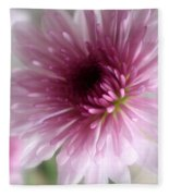 Chrysanthemum #001 Fleece Blanket