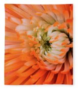 Chrysanthemum Serenity Fleece Blanket
