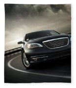 Chrysler 200 Fleece Blanket
