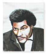 Chuck Berry 45 Fleece Blanket