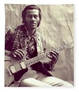 Chuck Berry, Music Legend Fleece Blanket