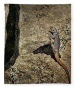 Chuckwalla - Crevice Fleece Blanket