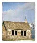 Church And School Fleece Blanket