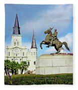 Church And State Fleece Blanket