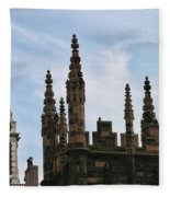 Church Architecture II  Nyc  Fleece Blanket