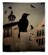 City Church Crows Fleece Blanket