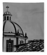 Church Dome 1 Fleece Blanket