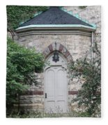 Church Door Fleece Blanket