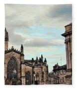 Church Edinburgh II Fleece Blanket