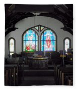Church - Grand Caymans Fleece Blanket