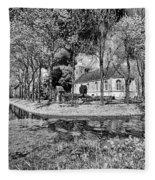Church In Holland Fleece Blanket