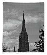 Church In Ireland Fleece Blanket