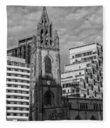 Church Of Our Lady And Saint Nicholas Liverpool Fleece Blanket