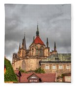 Church Of Saint Bartholomew Fleece Blanket