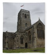 Church Of St. Mary's - Wedmore Fleece Blanket