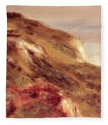 Church On A Clifftop Fleece Blanket