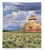 Church Rock 3 Fleece Blanket